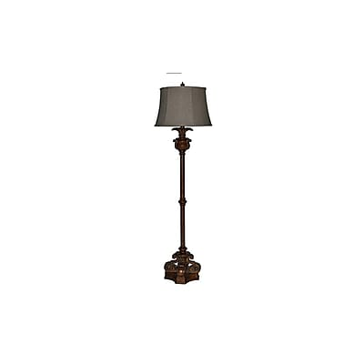 Aurora Lighting 1-Light Incandescent Floor Lamp - Brown (STL-CST061598)
