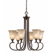 Lumenno Incandescent Chandelier - Bronze (1001-03-06)