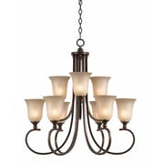 Lumenno Incandescent Chandelier - Bronze (1001-03-09)