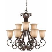 Lumenno Incandescent Chandelier - Bronze (1003-03-09)