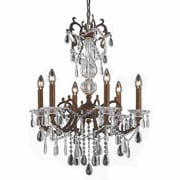 Lumenno Incandescent Chandelier - Bronze Finish With Gold/Silver Wash (1005-03-06)