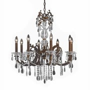 Lumenno Incandescent Chandelier - Bronze Finish With Gold/Silver Wash (1005-03-08)