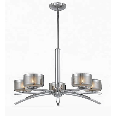 Lumenno Xenon Chandelier - Chrome Plated Finish (2008-03-05)