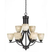 Lumenno Incandescent Chandelier -  Bronze (8000-03-09)
