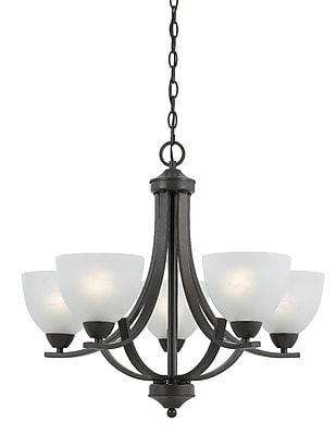 Lumenno Incandescent Chandelier - Bronze (8002-03-05)