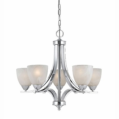Lumenno Incandescent Chandelier - Chrome Plated Finish (8003-03-05)