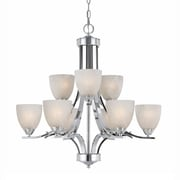 Lumenno Incandescent Chandelier - Chrome Plated Finish (8003-03-09)