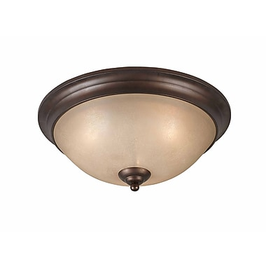 Lumenno Incandescent Flush Mount - Bronze (1001-06-17)
