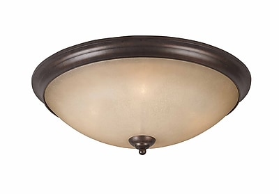 Lumenno Incandescent Flush Mount - Bronze (1001-06-23)