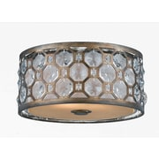Lumenno Incandescent Flush Mount - Hand Painted Weathered Bronze Finish (2002-06-15)