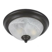 Lumenno Incandescent Flush Mount -  Bronze (8002-06-14)