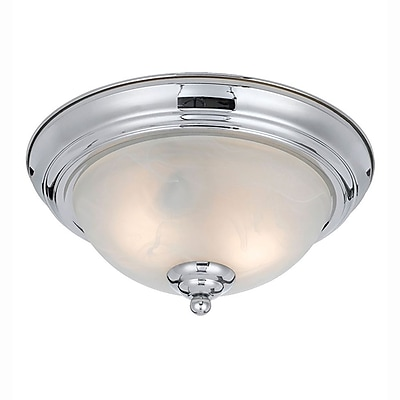 Lumenno Incandescent Flush Mount - Chrome Plated Finish (8003-06-14)