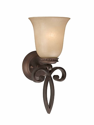 Lumenno Incandescent Wall Sconce - Bronze (1003-00-01)