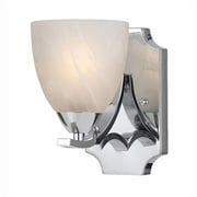Lumenno Incandescent Wall Sconce - Chrome Plated Finish (8003-00-01)