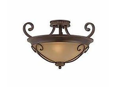 Lumenno Incandescent Semi Flush - Bronze (1003-01-20)