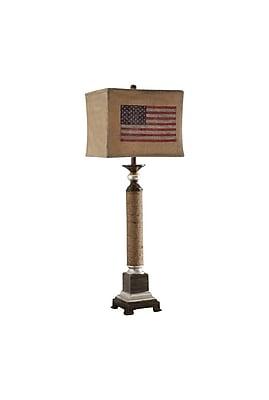 Aurora Lighting 1-Light Incandescent Table Lamp - Nantucket (STL-CST061635)