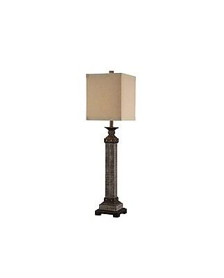 Aurora Lighting 1-Light Incandescent Table Lamp - Bronze (STL-CST059373)