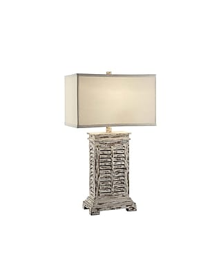 Aurora Lighting 1-Light Incandescent Table Lamp - Antique Grey Wash (STL-CST070880)