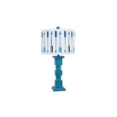 Aurora Lighting 1-Light Incandescent Table Lamp - Worn Turk (STL-CST081374)
