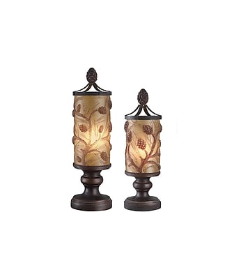 Aurora Lighting 1-Light Incandescent Table Lamp - Amber Bronze (STL-CST042931)
