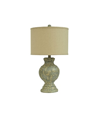 Aurora Lighting 1-Light Incandescent Table Lamp - Antique Pottery (STL-CST065282)