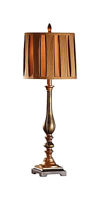 Aurora Lighting 1-Light Incandescent Table Lamp - Burnished Copper (STL-CST065527)