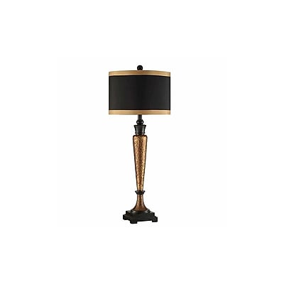 Aurora Lighting 1-Light Incandescent Table Lamp - Copper Gold (STL-CST085631)