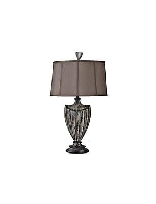 Aurora Lighting 1-Light Incandescent Table Lamp - Crackle Valencia (STL-CST043228)