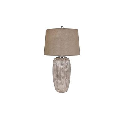 Aurora Lighting 1-Light Incandescent Table Lamp - Cream (STL-CST081190)