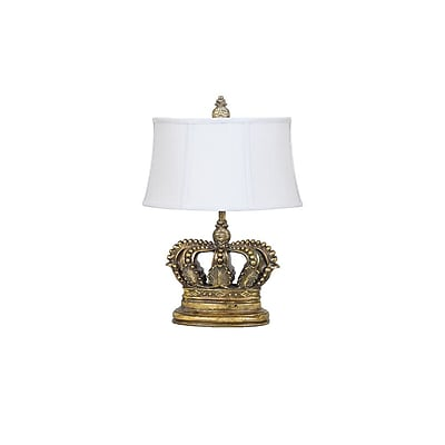 Aurora Lighting 1-Light Incandescent Table Lamp - Soft Gold (STL-CST079210)