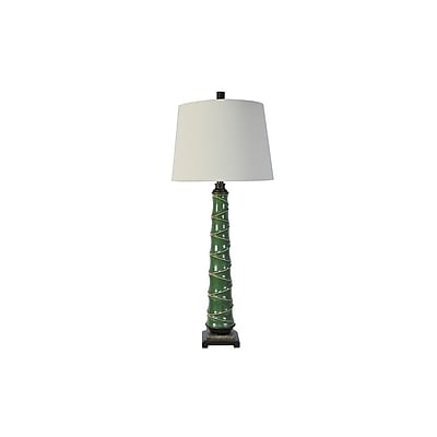 Aurora Lighting 1-Light Incandescent Table Lamp - Green (STL-CST075144)