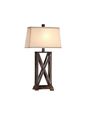 Aurora Lighting 1-Light Incandescent Table Lamp - Rich Bronze (STL-CST020540)