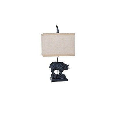 Aurora Lighting 1-Light Incandescent Table Lamp - Bronze (STL-CST081251)