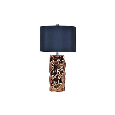 Aurora Lighting 1-Light Incandescent Table Lamp - Gold (STL-CST075137)
