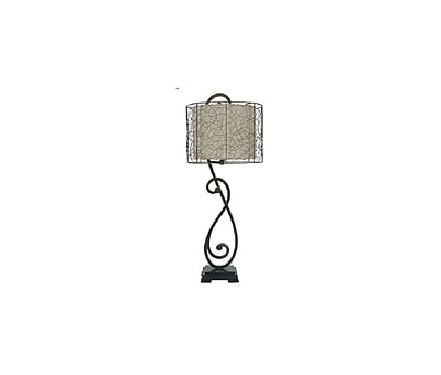 Aurora Lighting 1-Light Incandescent Table Lamp - Bronze (STL-CST023558)