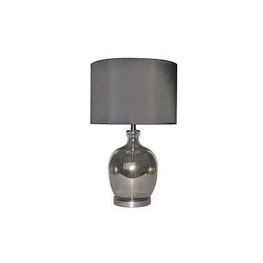 Aurora Lighting 1-Light Incandescent Table Lamp - Antique Mercury (STL-CST064599)