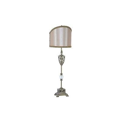 Aurora Lighting 1-Light Incandescent Table Lamp - Antique Gold (STL-CST075199)