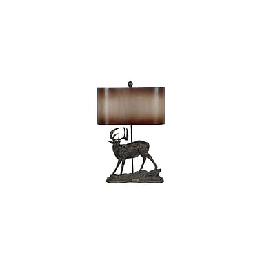 Aurora Lighting 1-Light Incandescent Table Lamp - Hand Rubbed Bronze (STL-CST042672)