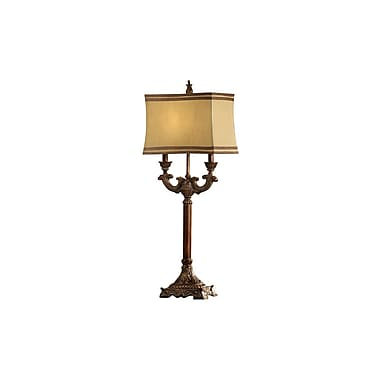 Aurora Lighting 1-Light Incandescent Table Lamp - Bronze (STL-CST040456)