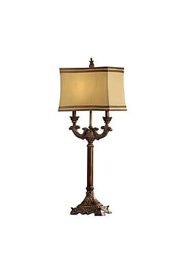 Aurora Lighting 1-Light Incandescent Table Lamp - Bronze (STL-CST040456)