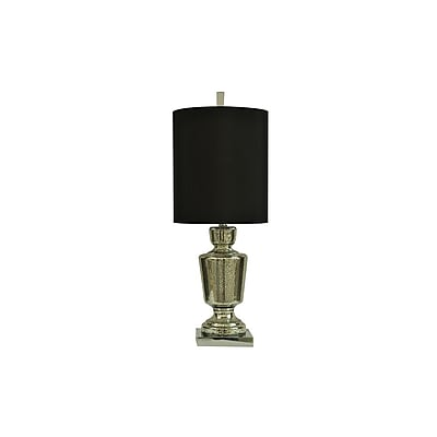 Aurora Lighting 1-Light Incandescent Table Lamp - Mercury Glass (STL-CST065312)
