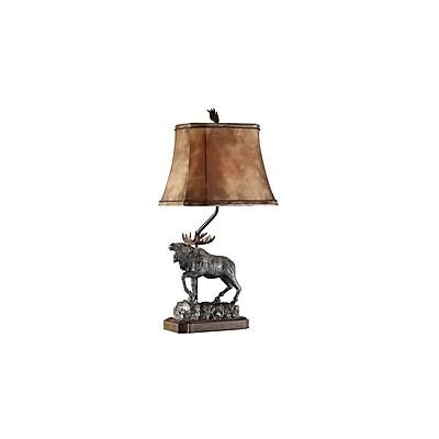 Aurora Lighting 1-Light Incandescent Table Lamp - Verdi Bronze (STL-CST033014)