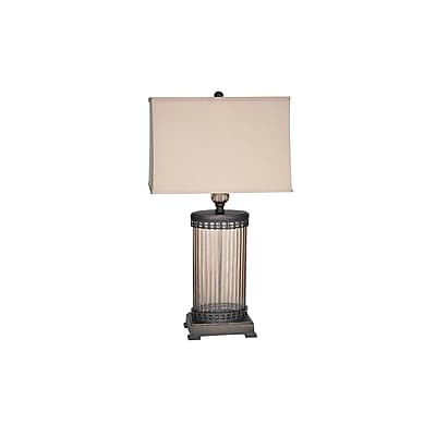 Aurora Lighting 1-Light Incandescent Table Lamp - Bronze (STL-CST064940)