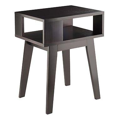 Winsome – Table d'appoint Thompson, fini espresso (92417)