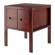 Winsome Bora End Table, Walnut Finish, (94721)
