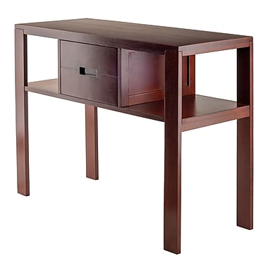 Winsome – Table à console Bora, fini noyer, (94743)