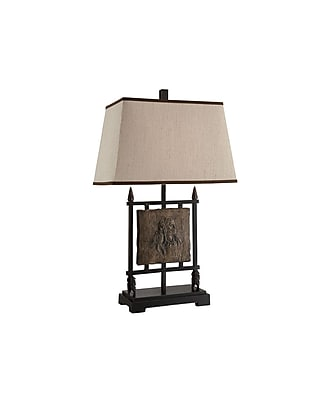 Aurora Lighting 1-Light Incandescent Table Lamp - Antique Bronze (STL-CST060959)