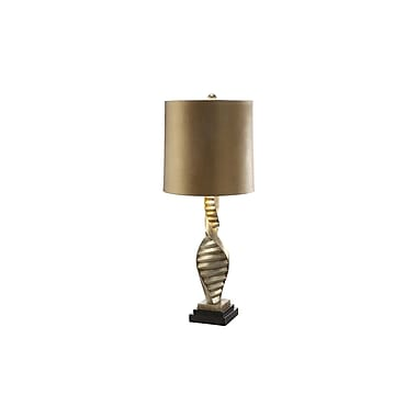Aurora Lighting 1-Light Incandescent Table Lamp - Grander Gold and Silver (STL-CST059380)