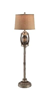 Aurora Lighting 2-Light Incandescent Table Lamp - Antique Lantern (STL-CST042917)