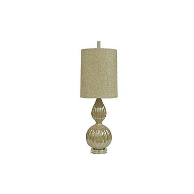 Aurora Lighting 1-Light Incandescent Table Lamp - Opal Cream (STL-CST065305)